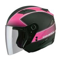 G-Max OF77 Classic Helmet Matte Black / Pink