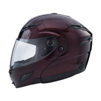 GMax GM54S Modular Helmet Flat Black Red