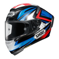 Shoei X-14 Bradley 3 Helmet Blue 2