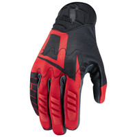 Icon Wireform Gloves Red