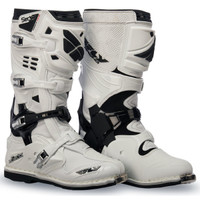 Fly Racing Sector White Boots