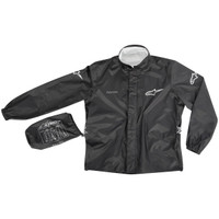 Alpinestars Quick Seal Out Two-Piece Rain Suit Black