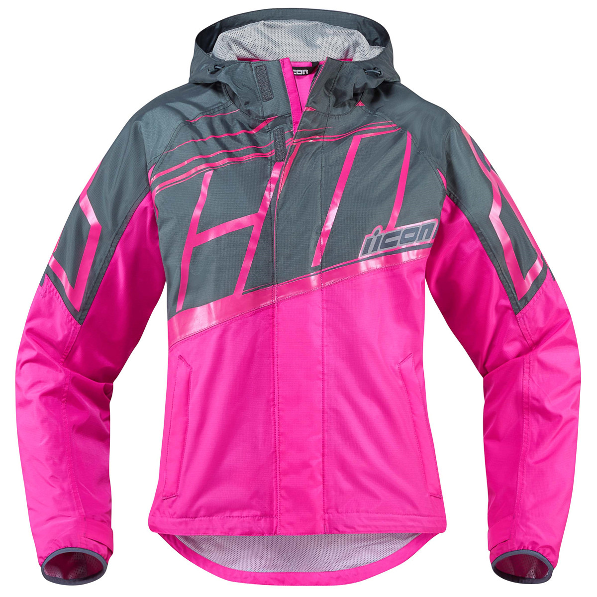 Icon PDX 2 Women's Rain Jacket - Motorcycle House
