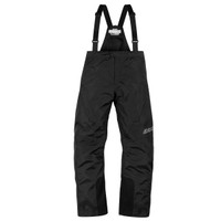 Icon PDX 2 Rain Bibs Black Front Side