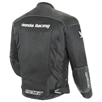 Honda CBR Mens Mesh Jacket Black 2