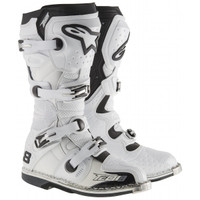 Alpinestars Tech 8 RS Vented Boots White