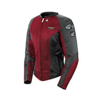 Joe Rocket Women's Goldwing Skyline 2.0 Jacket Red