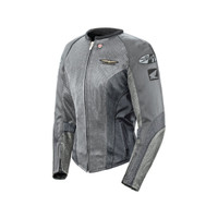 Joe Rocket Women's Goldwing Skyline 2.0 Jacket Silver