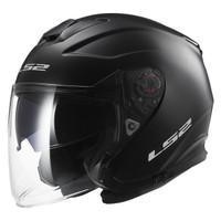 LS2 Infinity Helmet - Solid Matte Black