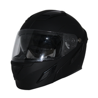 Zox Brigade Svs Solid Helmets Matte Black