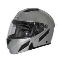 Zox Brigade Svs Solid Helmets Silver