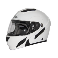 Zox Brigade Svs Solid Helmets White
