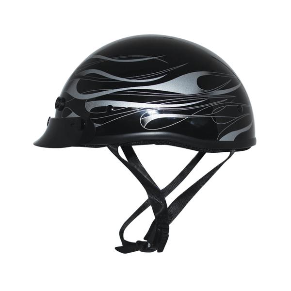 Zox Mikro Custom Flare Half Face Helmets