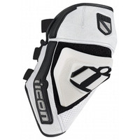 Icon Cloverleaf Knee Sliders White