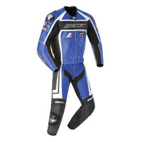 Joe Rocket Speedmaster 5.0 Two Piece Race Suit Blue