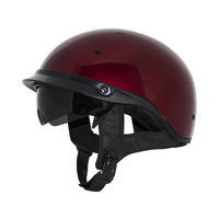 Zox Roadster Ddv Solid Helmets Red
