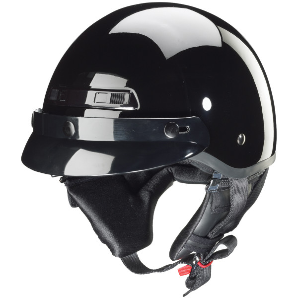 Zox Banos Stg Solid Helmets  Black