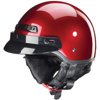 Zox Banos Stg Solid Helmets  Red