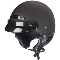 Zox Banos Stg Solid Helmets  Matte Black