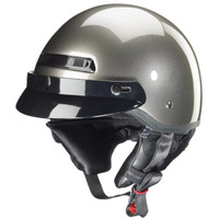 Zox Banos Stg Solid Helmets  Silver