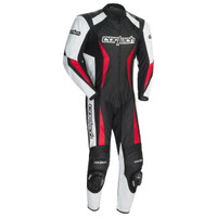 Cortech Latigo RR 2.0 1-Piece Race Suit Black / White / Red
