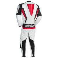Cortech Latigo RR 2.0 1-Piece Race Suit White / Black / Red 2