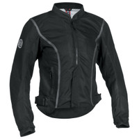 Firstgear Contour Mesh Womens Jacket Black