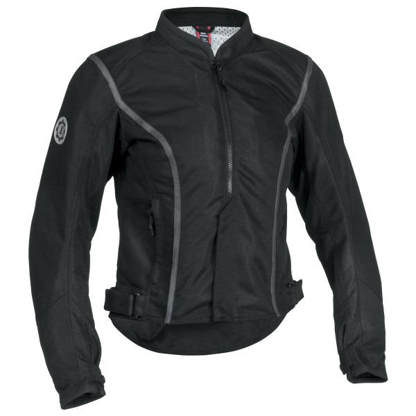 Firstgear Contour Mesh Womens Jacket Black