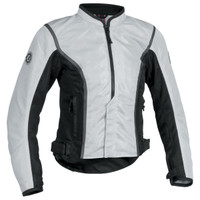 Firstgear Contour Mesh Womens Jacket Silver