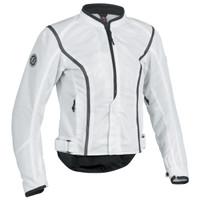 Firstgear Contour Mesh Womens Jacket White