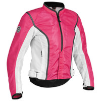 Firstgear Contour Mesh Womens Jacket Pink