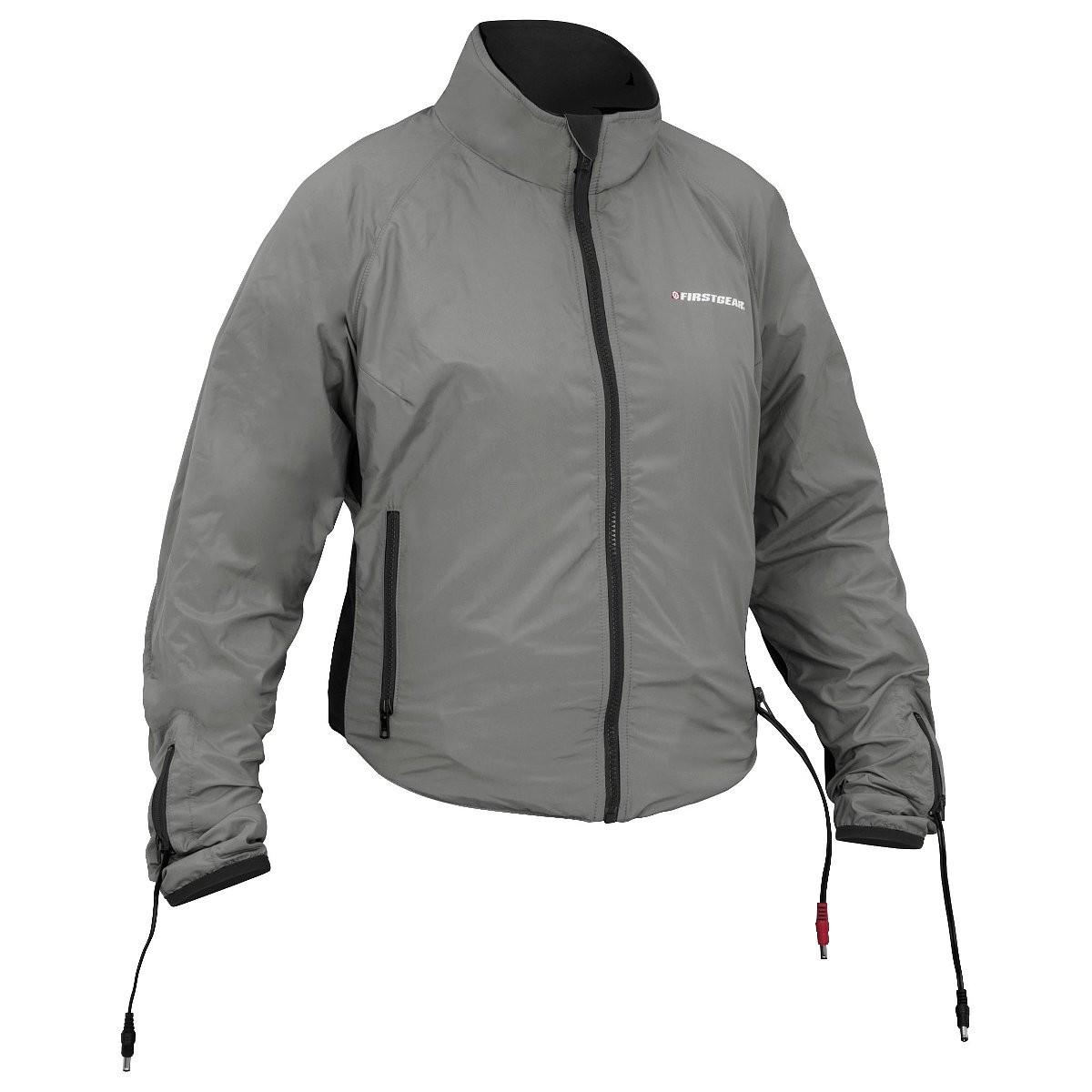 Heated jacket for women