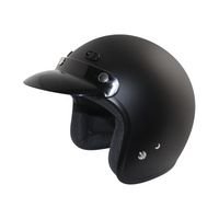 Zox Classic Solid Helmets Matte Black