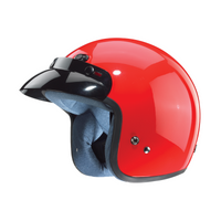 Zox Classic Solid Helmets Red