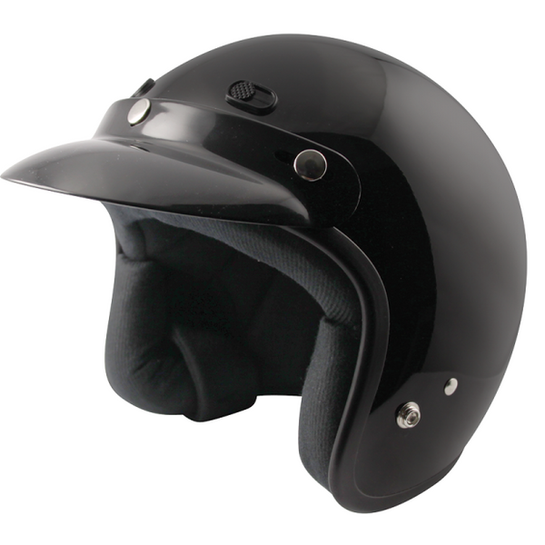 Zox Classic Solid Helmets Black