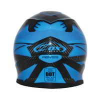 Zox Matrix Carbon Abyss Helmets Blue 2