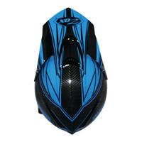 Zox Matrix Carbon Abyss Helmets Blue 1