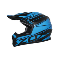 Zox Matrix Carbon Abyss Helmets Blue