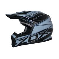 Zox Matrix Carbon Abyss Helmets Grey