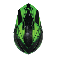 Zox Matrix Carbon Abyss Helmets Green 1