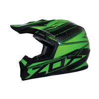 Zox Matrix Carbon Abyss Helmets Green