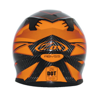 Zox Matrix Carbon Abyss Helmets Orange 2