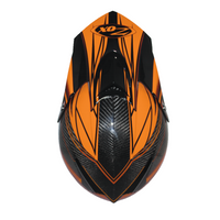 Zox Matrix Carbon Abyss Helmets Orange 1