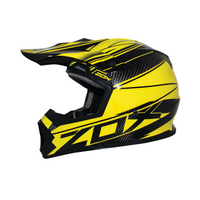 Zox Matrix Carbon Abyss Helmets Yellow