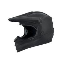 Zox Rush Solid Helmets Black