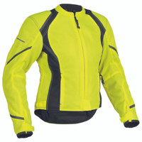Firstgear Mesh Tex Womens Jacket Yellow