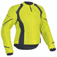 Firstgear Mesh Tex Womens Jacket Yellow