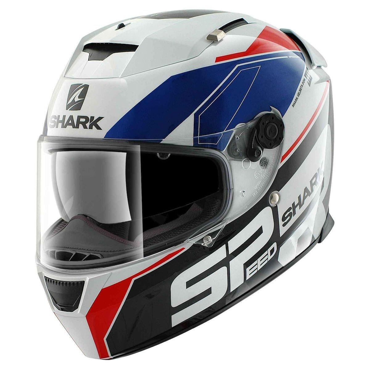 shark speed r series 2 sauer helmet motorcycle house. Black Bedroom Furniture Sets. Home Design Ideas