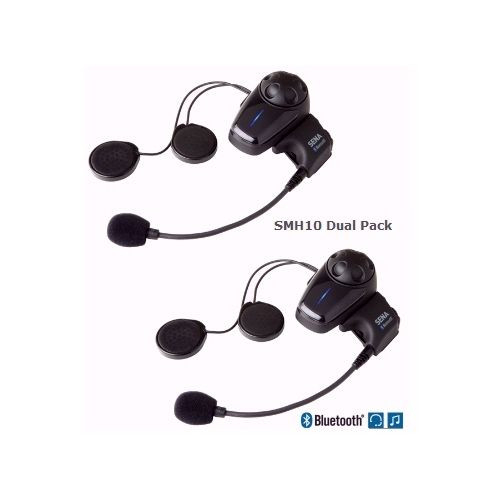 Sena Smh 10 Bluetooth Headset Dual Pack Motorcycle House