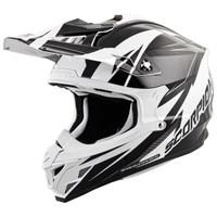 Scorpion VX-35 Krush Helmet Black/White